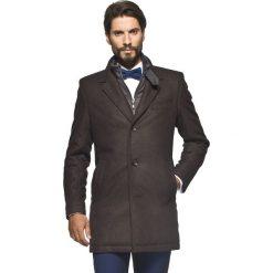 Płaszcze przejściowe męskie: płaszcz morelli brąz