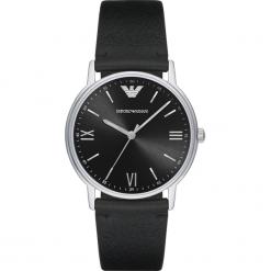 Zegarek EMPORIO ARMANI - Kappa AR11013 Black/Silver. Czarne zegarki męskie Emporio Armani. Za 850,00 zł.