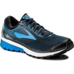 Buty do biegania męskie: Buty BROOKS - Ghost 10 110257 1D 056 Ebony/Metallic Charcoal/Electric Brooks Blue