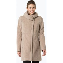 Płaszcze damskie pastelowe: Comma – Płaszcz damski z dodatkiem kaszmiru, beżowy