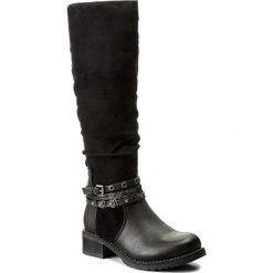 Kozaki JENNY FAIRY - WS17357-14 Czarny. Czarne buty zimowe damskie Jenny Fairy, z materiału. Za 149,99 zł.
