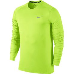 Nike Koszulka męska DF Miler LS żółta r. S (683570 702). Żółte t-shirty męskie marki Nike, m. Za 99,00 zł.