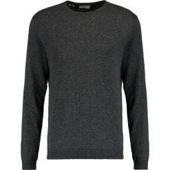 Swetry klasyczne męskie: Selected Homme SHDTOWER CREW NECK Sweter medium grey melange
