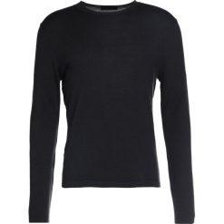 Swetry klasyczne męskie: Falke Sweter black