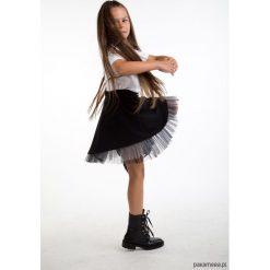 Spódniczki dziewczęce z falbankami: Czarna spódnica z tiulem dla dziewczynki
