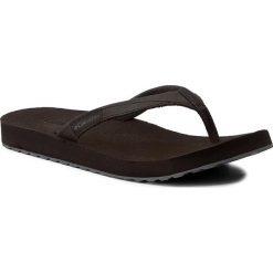Japonki COLUMBIA - Sorrento Leather Flip Wmms BL4505 Black/Graphite 010. Czarne crocsy damskie marki Columbia, z nubiku. W wyprzedaży za 139,00 zł.