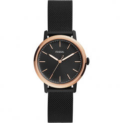 Zegarek FOSSIL - Neely ES4467  Black/Gold. Różowe zegarki damskie marki Fossil, szklane. Za 699,00 zł.