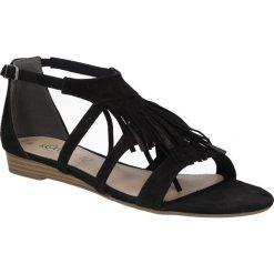 SANDAŁY S.OLIVER 5-28112-26. Czarne sandały damskie marki S.Oliver. Za 179,99 zł.
