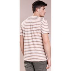 T-shirty męskie z nadrukiem: J.LINDEBERG COMA CLEAN STRIPED  Tshirt z nadrukiem amphora