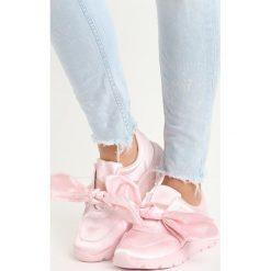 Jasnoróżowe Buty Sportowe Pinky Winky. Pomarańczowe buty sportowe damskie marki Born2be, z materiału. Za 49,99 zł.
