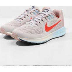 Buty do biegania damskie: Nike Performance AIR ZOOM STRUCTURE 21 Obuwie do biegania Stabilność vast grey/habanero red/elemental rose/cobalt tint/thunder blue/summit white
