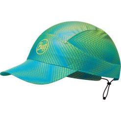 Czapki męskie: Buff Czapka Buff® Pack Run Cap R-Jam Lime niebiesko zielona (BH113705.801.10.00)