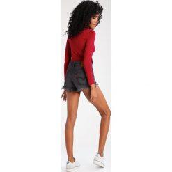 Bermudy damskie: Levi's® 501 SHORT Szorty jeansowe slashed black