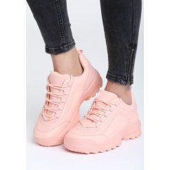 Różowe Sneakersy Get This. Czerwone sneakersy damskie vices, z materiału. Za 89,99 zł.