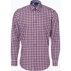 Nils Sundström - Koszula męska, czerwony. Czerwone koszule męskie na spinki Nils Sundström, m, z bawełny, button down. Za 119,95 zł.