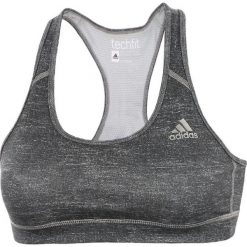Topy sportowe damskie: Adidas Biustonosz Techfit szary r. L (D88788)
