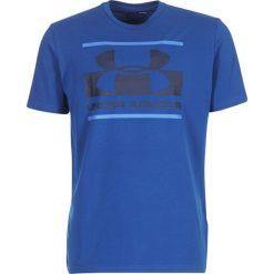 Under Armour Koszulka męska Blocked Sportstle Logo niebieska r. XXL (1305667-487). Niebieskie koszulki sportowe męskie marki Under Armour, m. Za 95,66 zł.