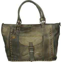Torba - 4-LAV59-O GRI. Żółte torebki klasyczne damskie Venezia, ze skóry. Za 529,00 zł.