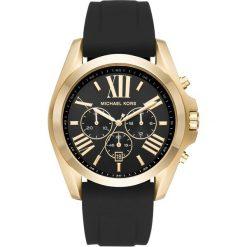 Michael Kors BRADSHAW Zegarek chronograficzny schwarz. Czarne zegarki męskie marki Michael Kors. Za 1049,00 zł.