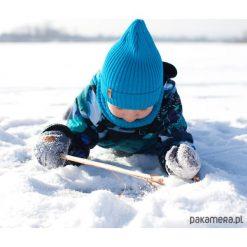 Czapka zimowa beanie niebieska. Niebieskie czapeczki niemowlęce Pakamera, na zimę. Za 65,00 zł.