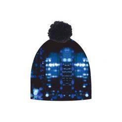 Czapka hauer CITY. Czarne czapki zimowe damskie marki Hauer, z nadrukiem, z polaru. Za 69,00 zł.