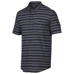 Oakley Koszula Choice Woven Fathom S. Szare koszule męskie marki Oakley, m, z materiału. W wyprzedaży za 169,00 zł.