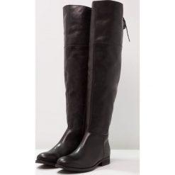 Zign Muszkieterki black. Czarne buty zimowe damskie Zign, z materiału. W wyprzedaży za 503,20 zł.