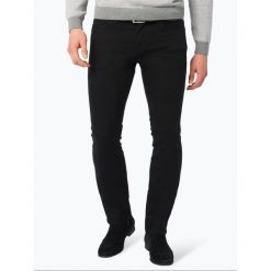 BOSS Casual - Jeansy męskie – Orange 63, czarny. Czarne proste jeansy męskie BOSS Casual. Za 349,95 zł.