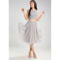 Spódniczki trapezowe: Lace & Beads PICASSO Spódnica trapezowa light grey