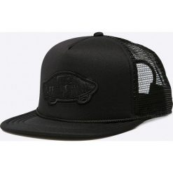 Vans - Czapka. Czarne czapki z daszkiem męskie Vans. W wyprzedaży za 69,90 zł.