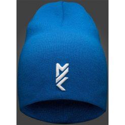 Czapki męskie: Czapka męska Maciek Kot Collection CAM502 – niebieski