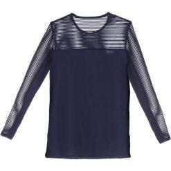 Röhnisch MIKO Bluzka z długim rękawem indigo night. Niebieskie bluzki longsleeves Röhnisch, l, z elastanu, sportowe. Za 169,00 zł.
