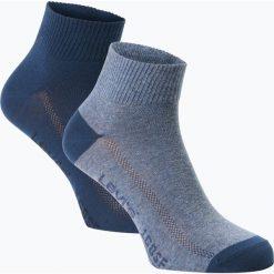 Levi's - Skarpety męskie pakowane po 2 szt., niebieski. Niebieskie skarpetki męskie Levi's®, z bawełny. Za 39,95 zł.