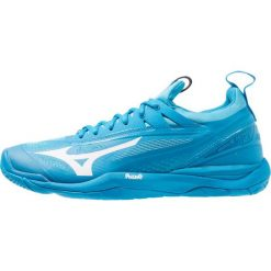 Mizuno WAVE MIRAGE 2.1 Obuwie do piłki ręcznej blue jewel/white/hawaiian ocean. Niebieskie buty do koszykówki męskie Mizuno, z gumy, mizuno wave. Za 569,00 zł.