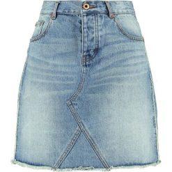 Spódniczki ołówkowe: Scotch & Soda SEASONAL DENIM SKIRT  Spódnica ołówkowa  light blue
