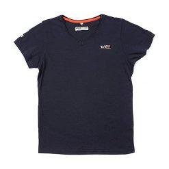 T-shirty chłopięce z nadrukiem: Koszulka w kolorze granatowym