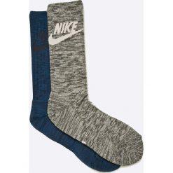 Nike Sportswear - Skarpety (2-pack). Szare skarpetki męskie Nike Sportswear, z bawełny. W wyprzedaży za 17,90 zł.