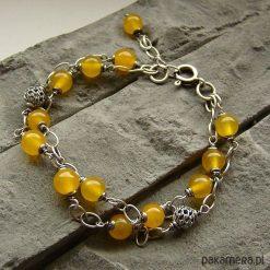 Bransoletki damskie: Yellow – bransoletka