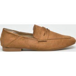 Answear - Mokasyny Lily Shoes. Brązowe mokasyny damskie ANSWEAR, z gumy. W wyprzedaży za 79,90 zł.
