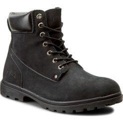 Trapery FILA - Trail Blazer 1F68X43001-00 Black 2010. Czarne botki męskie Fila, z materiału. W wyprzedaży za 129,00 zł.