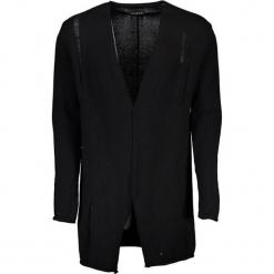 Kardigan w kolorze czarnym. Czarne swetry rozpinane męskie marki Guess, m. W wyprzedaży za 269,95 zł.
