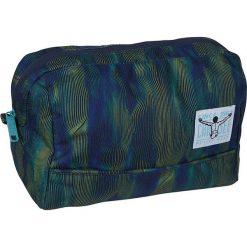"""Kosmetyczka """"Shower Bag"""" w kolorze granatowo-zielonym - 26 x 18 x 14 cm. Niebieskie kosmetyczki męskie Chiemsee Bags. W wyprzedaży za 43,95 zł."""