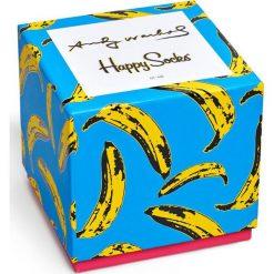 Happy Socks - Skarpety Andy Warhol Gift Box. Niebieskie skarpetki męskie Happy Socks. W wyprzedaży za 139,90 zł.