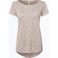 T-shirty damskie: Key Largo – T-shirt damski – Dot, beżowy