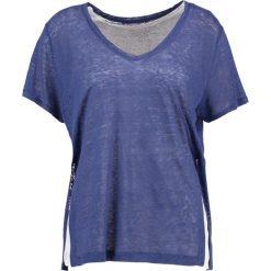 T-shirty damskie: Majestic Tshirt z nadrukiem indigo blue