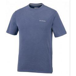 Columbia Męski T- Shirt Sun Ridge Ii Crew Carbon, M. Szare t-shirty męskie Columbia, m. W wyprzedaży za 119,00 zł.