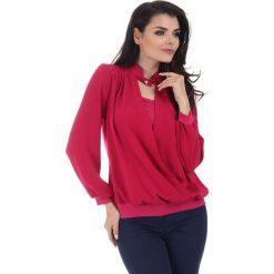 Bluzki damskie: Bluzka w kolorze różowym