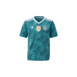 T-shirty z krótkim rękawem Dziecko  adidas  Koszulka wyjazdowa reprezentacji Niemiec. Zielone bluzki dziewczęce z krótkim rękawem Adidas. Za 149,00 zł.