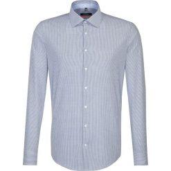 Koszule męskie na spinki: Koszula – Slim fit – w kolorze niebiesko-białym