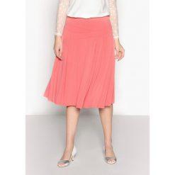 Spódniczki dzianinowe: Rozkloszowana półdługa spódnica z dzianiny